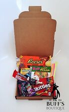 Super Small USA American Candy Sweet Hamper Gift Box With Reeses & Laffy Taffy!