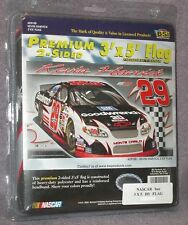 3x5 ft KEVIN HARVICK #29 NASCAR SIGNATURE COLLECTION SERIES DOUBLE SIDED FLAG