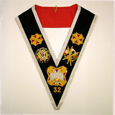 Masonic - Rose Croix 32nd. degree collar - NEW