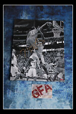 **GFA Oklahoma City Thunder *KEVIN DURANT* Signed 16x20 Canvas Photo PROOF COA**