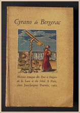 Bergerac HISTOIRE COMIQUE ETAT EMPIRE LUNE SOLEIL 1962