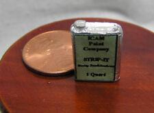 Miniature Dollhouse Quart Can of Strip-It