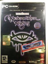 Neverwinter Nights pc ita pc nuovo sigillato raro prima release