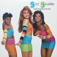 Sweet Sensation - Take It While It's Hot - audio cassette tape