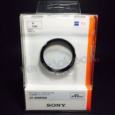 SONY VF-49MPAM 49mm Carl Zeiss MC Protector Protective Filter for α Lenses New