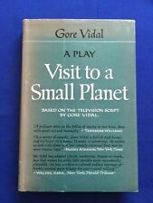 VISIT TO A SMALL PLANET. A PLAY - FIRST EDITION SIGNED BY GORE VIDAL
