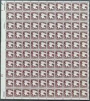 USA Briefmarken Bogen 100x 20 Cent 1981 C Postage - USPS Eagle #30666-S