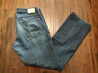 AG Adriano Protege Straight Leg Jeans Men's 34 Waist 33 Inseam