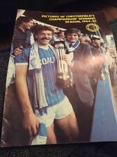 Chesterfield 1984/85 Championship Winning Souvenir Brochure