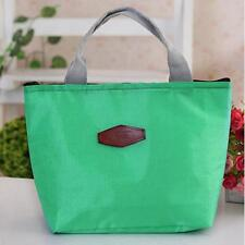 Portable Insulated Thermal Cooler Bento Lunch Box Tote Picnic Storage Bag GN YT8