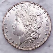 1885 Mirror Like Morgan Silver Dollar 90% Silver $1 Coin Us #Oc44
