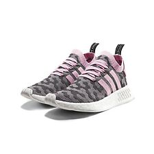 Adidas Women's NMD_R2 PRIMEKNIT SHOES NEW AUTHENTIC Wonder Pink BY9521 Size 10