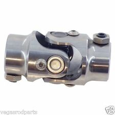 "Stainless Steel Steering U Joint size 1"" DD to 13/16""-36 spline U-Joint coupler"