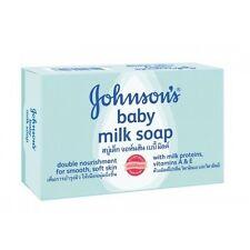 12 Pack - Johnson's Baby Milk Soap Protein & Vitamin A & E 75g
