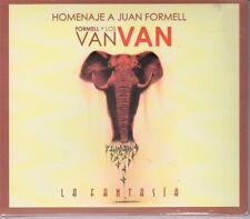 Formell y Los Van Van La Fantasia  Homenaje a Formell (ORIGINALES) NEW SEALED CD
