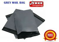 100 X Grey Mailing Bags Strong Parcel Postage Plastic Post Poly Self Seal