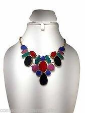 CosMos Handicrafts Ashoka Design Partywear Multicolor Minha Antique Necklace