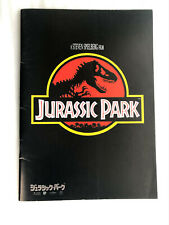 "Japanese movie program pamphlet ""Jurassic Park"", Laura Dern, Ariana Richards"