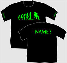 Floorballshirt Floorball Unihockey T-Shirt Trikot Evolution Vereine Kinder EM 5