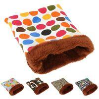 Small Pet Nest Squirrel Hedgehog Hamster Bed Wolf Guinea Pig Warm Sleep Bag US