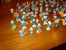 smurf figures