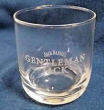Jack Daniel's Gentleman ~Jack~ Whiskey Snifter Glass Set of 4 White Lettering