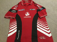 Holden Racing Team V8 Supercars Polo Small HRT Vintage 2004 Unknown Signature