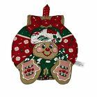 """Vintage B&D Gingerbread Pot Holder Hot Christmas 8.5"""""""