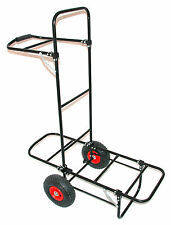 Bison Pull Carrello Pesca Barrow PORTER RRP £ 79.99