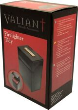Valiant Firelighter Tidy - Black Great storage for firelighters and matches