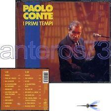 """PAOLO CONTE """"I PRIMI TEMPI"""" RARO BOX 2 CD STAMPA TEDESCA"""
