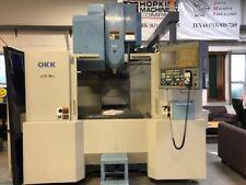 Okk Model Vm 5 Ii Cnc Vertical Machining Center With Mitsubishi M635 2000