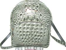 Brahmin Serpentine Melbourne Croco Leather Mini Dartmouth Backpack NWT $295