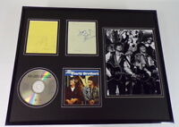 Everly Brothers Signed Framed 16x20 Best Of CD & Photo Display JSA