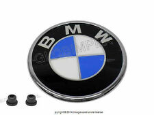 BMW e46 CONVERTIBLES rear decklid Trunk Emblem roundel GENUINE OEM