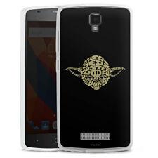 ZTE Blade L5 Silikon Hülle Case Handyhülle - Yoda Typo