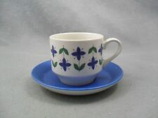 Midwinter Roselle Tea Cup & Saucer