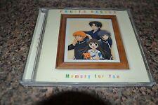 FRUIT BASKET ORIGINAL SOUNDTRACK MEMORY FOR YOU CD Music OST Anime