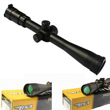 Tactical Scope BSA 4.5-14X44mm Optical Sight Long Eye Relief Mil-dot Airsoft