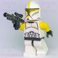New Star Wars LEGO® Yellow Phase 1 Clone Trooper Commander Minifig 75019 Genuine