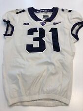 Game Worn Used Nike TCU Horned Frogs Football Jersey Size 42 #31