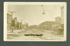 Lansing IOWA RP c1910 STREET CREW Working MAIN STREET Flood? nr Waukon New Albin