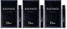 Dior Sauvage Eau de Toilette EDT 1ml x 3 = 3ml Vial Pocket Sample Size Spray