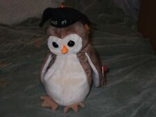 Ty Beanie Babies - Wise the Owl - may have a misprint on the birthdate -see desc