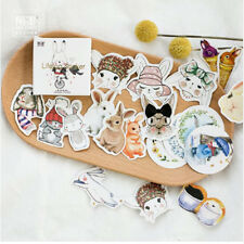 45 pcs/pack Lovely Rabbit Decorative Stickers DIY Decoration Diary Stickers