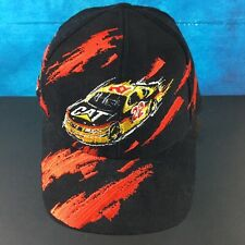 CAT- Caterpillar Racing Bill Davis #22 NASCAR Black/Red Splash Racing Cap/Hat