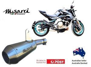 Kawasaki Ninja 650 2008-2011 Musarri Stainless GP Street Series slipon exhaust