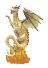 Small Citrine Dragon B - Tudor Mint - Land of Dragons - K152