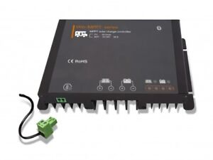 f/ür Telekommunikationsbasisstationen OldFe Solaranlage Komplettset solar Laderegler T-2210AN 20 A mit Temperatursensor LCD-Bildschirm und Externem L/üfter