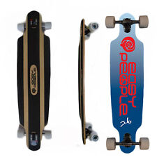 Easy People Drop-0S Natural Drop-Through Longboard Complete Truck Wheels Push Bl